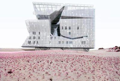 سازه های عظیم نیویورک در دل کویر +عکس