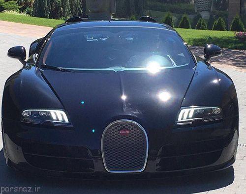 کریستیانو رونالدو و اتومبیل جدیدش پس از یورو