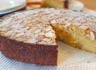 آموزش تهیه کیک بادام همراه با شربت عسل