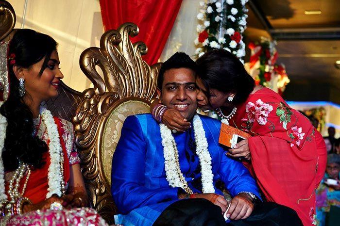 مراسم عروسی در هندوستان به روایت تصویر