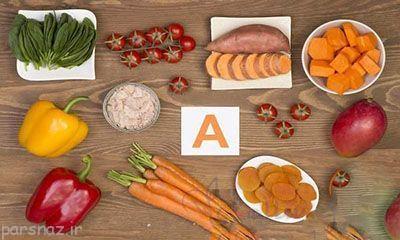 فایده های ویتامین A برای کودکان