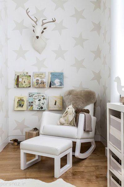 طراحی دکوراسیون اتاق نوزاد و نکته های طلایی