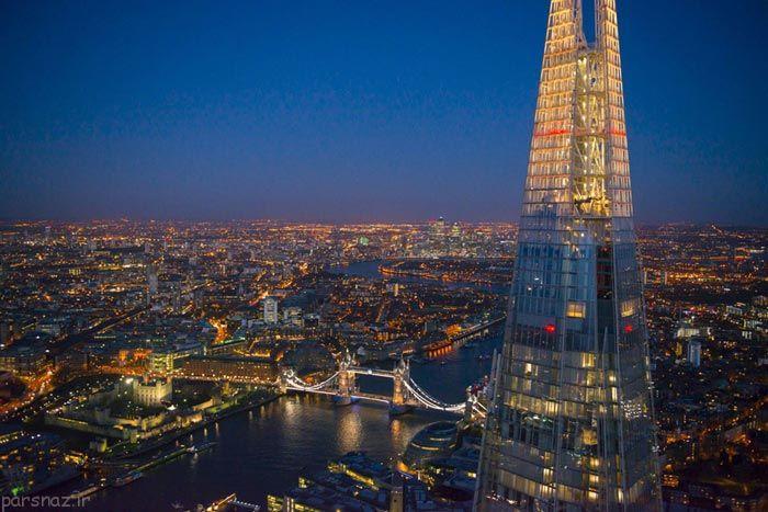 مجموعه تصاویر عکس های هوایی از شهر لندن