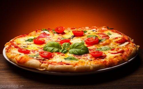 جدیدترین دستور پخت پیتزای فوری و خوشمزه