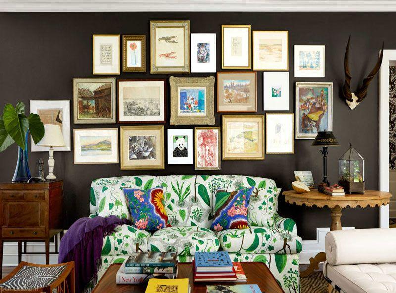 انتخاب رنگ مناسب برای دکوراسیون اتاق پذیرایی