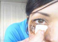 از بین بردن سیاهی دور چشم با قهوه