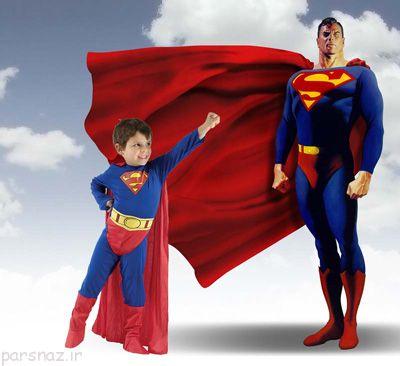 شخصیت قهرمانی سوپرمن به جای رستم