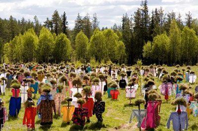 تصاویر آدم های خاموش در فنلاند را ببینید