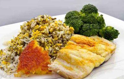 آموزش تهیه سبزی پلو ماهی هندی تابستانی