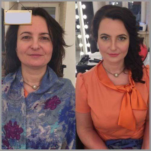 گول دختران زیبا را نخورید + عکسهای دختران قبل و بعد از آرایش