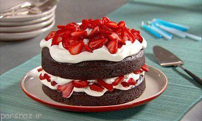 با هم آموزش کیک شکلاتی با ماست را یاد بگیریم
