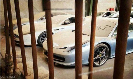 ماشین های لوکس در گمرک ایران خاک می خورند