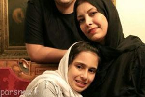 مهاجرت بازیگر زن معروف از ایران به خاطر دخترش