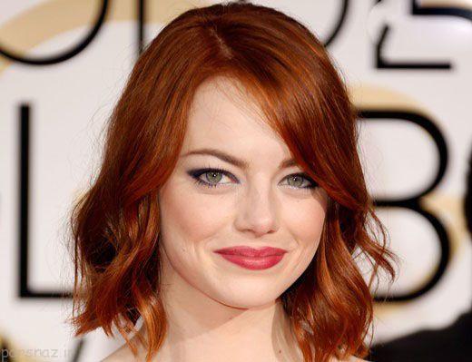 زنان سوپر استارهای زیبا با موهای قرمز در هالیوود