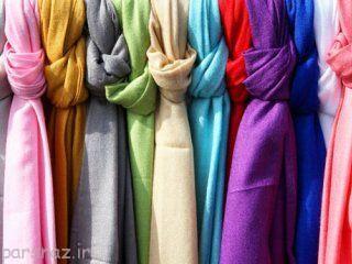 شال و روسری را متناسب با صورت ببندیم