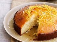 آموزش تهیه کیک شربت لیمو با طعم عالی