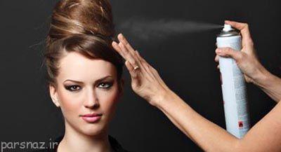 چگونه اسپری مو مناسب انتخاب کنیم؟