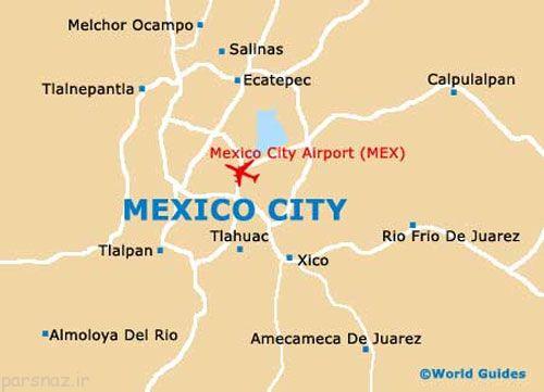 آشنایی با زیباترین شهر توریستی در مکزیک
