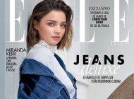عکس های میراندا کر Miranda kerr روی جلد مجله Elle