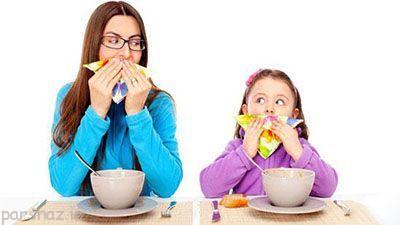 رفتارهای خوب را به کودکان خود بیاموزید