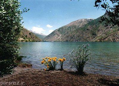 آشنایی با دریاچه گهر در استان لرستان