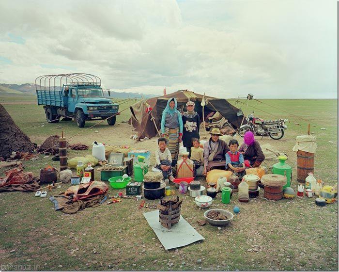مجموعه عکس هایی از زندگی ساده مردم چین