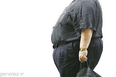 خطر چاقی در مردان بیشتر از زنان است