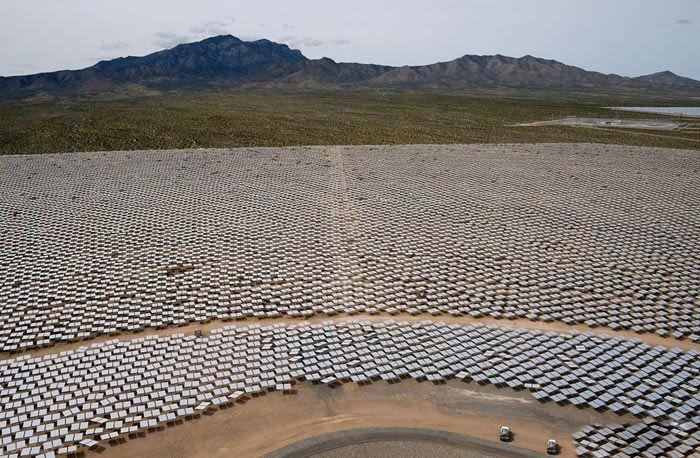 بزرگترین نیروگاه برق خورشیدی در دنیا را ببینیم