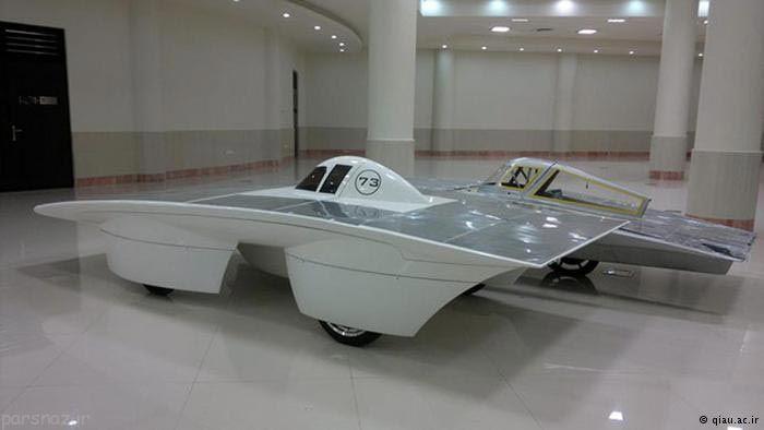خودرو خورشیدی ایرانی به صحرای آمریکا رفت