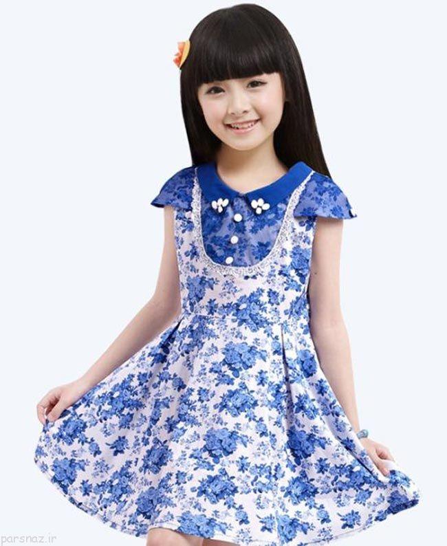 مدل های جدید لباس مجلسی بچگانه دخترانه
