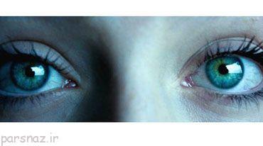 چشمان این زن با بقیه انسان ها تفاوت دارد