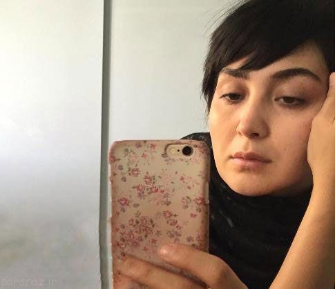 این خانوم بازیگر هم به چالش عکس بدون آرایش پیوست