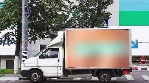 عکس های کاملا برهنه پشت کامیون ها حادثه آفرید