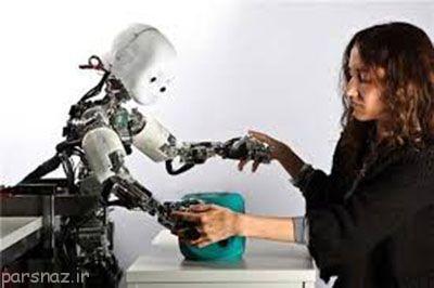 ربات ها هم دارای حس لامسه شدند