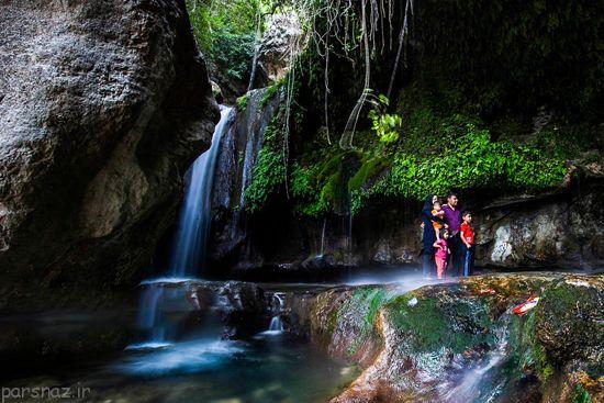 با آبشار زیبا و رویایی تنگ تامرادی آشنا شوید