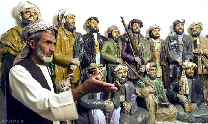 عکس هایی از آثار باستانی کشور افغانستان در رابطه با حمله شوروی