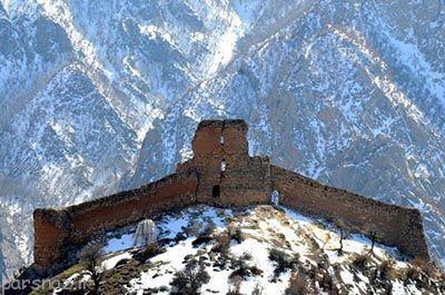 آشنایی با قلعه کنگلو در استان مازندران