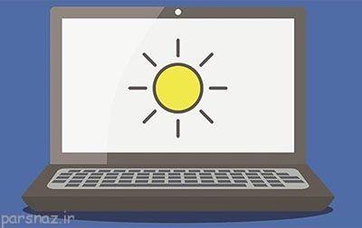 روشنایی تطبیق با محیط در ویندوز 10