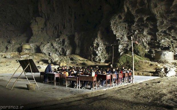 مردم این روستا در چین همچنان غار نشین هستند