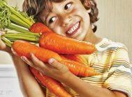 خوردن هویج در کودکان به رشد آن ها کمک می کند