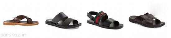 زیباترین مدل کفش های تابستانی مردانه شیک