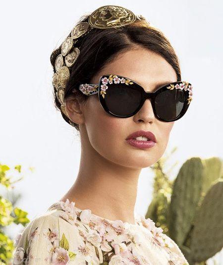 آموزش تزیین عینک بسیار زیبا و جالب