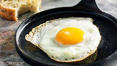خوردن تخم مرغ و 10 فایده آن برای ما