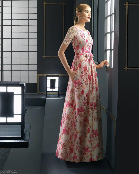 لباس مجلسی جدید و زیبا برند رزا کلارا