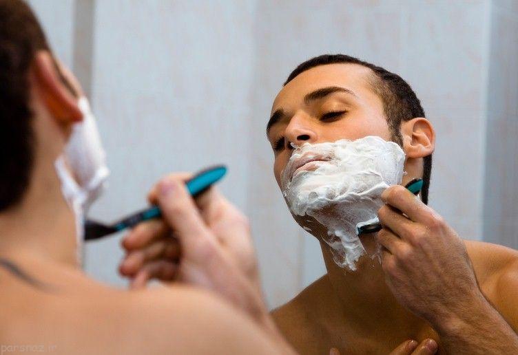 نکات سلامت پوست برای آقایان