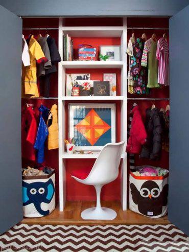 مدل های کمد دیواری اتاق کودک بسیار زیبا