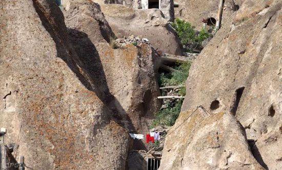 روستای صخره ای کندوان را ببینید