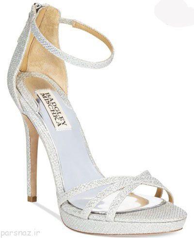 جدیدترین مدل های کفش عروس زیبا سری جدید