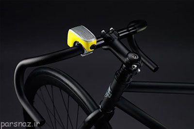 گجت هوشمند برای دوچرخه طراحی شد