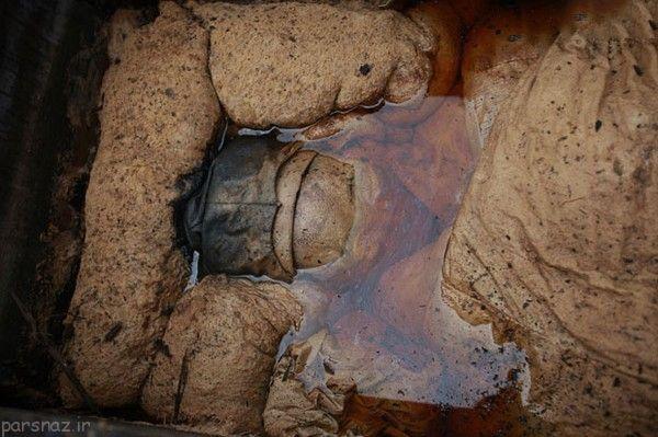 زن مومیایی 700 ساله در چین پیدا شد